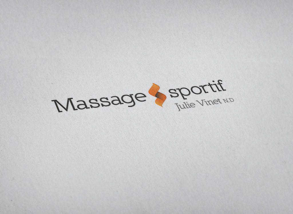 Logo Massage sportif de Julie Vinet