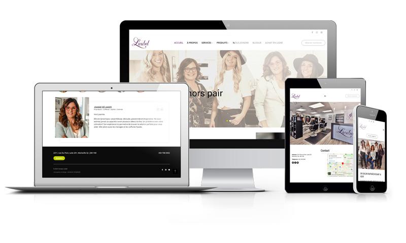 Design Web et intégration sur WordPress